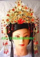 Free shipping Tang suit hanfu coronet costume the bride hair accessory coronet hair accessory accessories