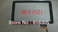 Free shipping 9 inch touch screen ,100% Original New BLUEING M9/anson M92, Tablet PC touch panel digitizer 300-N3849B-A00-V1.0