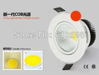 free shipping 5pcs/lot 5W  COB lamp ceiling lamp tube light  wall lamp COB integrated surface light source