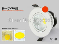 free shipping 5pcs/lot 5W  COB lamp ceiling lamp tube light  wall lamp COB integrated surface light source