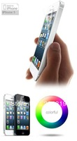Free shipping 20pcs/lot Clear screen protaction For iphone 5 5G clear screen protector guard lcd protector film Front T53
