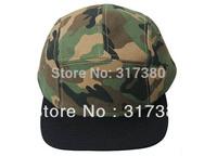 Wholesale 10pcs 5 Panel COOL Designer Blank Camouflage Men Women Snapback Hats Camo Caps Mens Camper Flat Bill Hat Baseball Cap