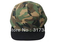 Wholesale 10pcs 5 Panel COOL Designer Blank Camouflage Men Women Snapback Hats Camo Caps Mens Camper Flat Bill Hat Baseball Cap