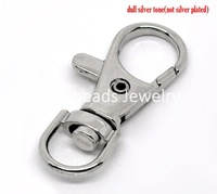 Free Shipping! 20 Lobster Swivel Clasps for Key Ring 37x16mm (B12179)