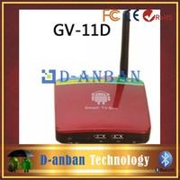 Google Andriod 4.2 Smart TV Box GV-11D AllWinner A20 Dual Core 1GB RAM 4GB Flash Built-in 2.0MP Camera Microphone IR Remote