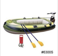 Three fishing boat 6300s belt electric propulsion inflatable boat