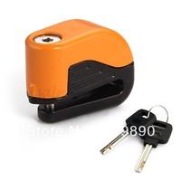 Motorcycle Motorbike Anti-theft Alarm Security Disc Brake Lock with 2 Keys