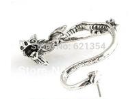 E401 Punk & Rock Style Earring, Dragon Clip Earring Jewelry, Fashion Jewelry