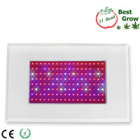 Led hydroponics grow lighting fedex fast free shipping high power 144*3w with full spectrum