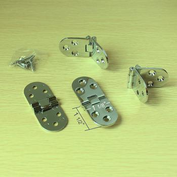79x30mm Folding Table Hinge Round Hinge with Screws