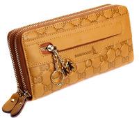 Fashion kangaroo women's genuine leather clutch 2013 day clutch fashion