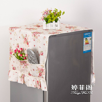 BEST Refrigerator cover universal gremial dust cover storage bag