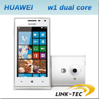 New Huawei w1 4.0 inch capacitive screen 512m ram 4gb rom dual core Windows phone 8 3g gps unlocked mobile phone