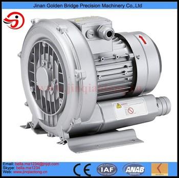 0.25kw Side Channel Vacuum Pump Ring Blower Vortex Air Blower Single Stage Vacuum Pump