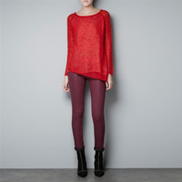 2013 new long-sleeved round neck ladies fashion woolen sweater autumn Christmas