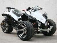 Vdw-14 tricycle atv flagship model 14 aluminum wheels loncin 200 water