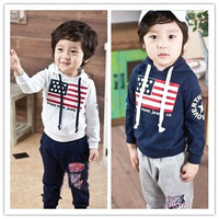 Free shipping fashion children suit for boy thin style spring and autumn wholesale and retail