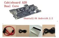 raspberry pi enhance version cubieboard  ARM cortex A7 dual-core CPU luxury package +Free shipping