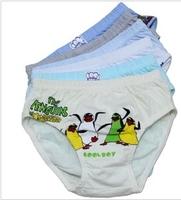 Wholesale kids underwear,  penguin pattern Cotton underwear /  Boys Briefs  Pants Free Shipping