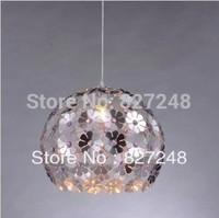 Wholesale new items power 110v 220v e27*1 lamp holder aluminum pendant lamps design silver for home indoor lighting dropshipping