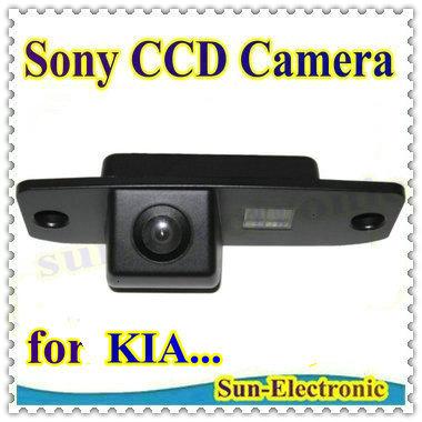 SONY CCD Sensor Car Reverse Rear View Backup Parking CAMERA for KIA Carens/Borrego/Oprius/Sorento/Sportage R / KIA CEED(China (Mainland))