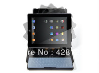 Hot selling 2013 Newest 360 rotate bluetooth keyboard for ipad 2/3/4  50pcs/lot free shipping by dhl
