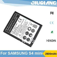 New arrival 2800mAh S4 Mini mobile battery for Samsung GALAXY S4 Mini i9190  i9192 i9195 i9198 Free shipping