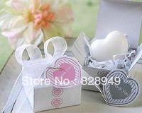 Wedding favor--Gift Box Heart Mini-Soap -Pink Box  10pcs/lot