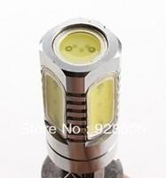 H3 7.5W 600LM 7000-8000K White Light High-Power LED Bulb for Car Lamps (DC 12V)