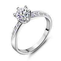 Chchw Best Quality 18K Gold & Platinum Plated Crystal & Rhinestone Rings Fashion Jewelry Chchw18KJ048