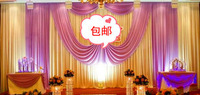 10ft*20ft/ Wedding backdrop curtains   Free shipping