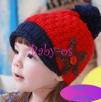 2013 new fashion winter starfish sea star stelleroid children beanie sets baby pocket hats boy earflap girl skullcap Baby-os12