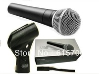 Top Quality Unidirectional Dynamic Vocal Wired Microphone Mike For SM 58 58LC With Bright Clear Sound!