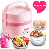 Insulation k5 automatic mini stainless steel rice cooker hot electric heating lunch box