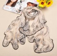 fashion scarf 2013  woman blue and white porcelain package edge  silk scarf , chiffon shawl big square scarf   140*110cm  FX-130