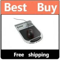 Mouse Pad Calculator Inland Four-In-One Pro Mouse Station Gel-Wrist Pad  Free shipping