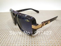 EMS Shipping 10pcs/lot CAZAL Black Sunglasses Glasses Hip Hop Jay Z Style Model 627 Brand New With Original Retail Box