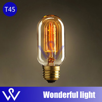 ST45-A light bulbs vintage cord pendant lamp E27 edison bulb for restaurant club bars