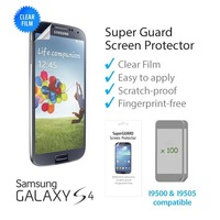 100 pcs HD High Resolution Screen Protectors Guard Cover Film for Samsung Galaxy S4 SIV i9500 Free Shipping