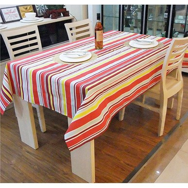 Quality stripe cloth 100% cotton canvas table cloth dining table dining table tablecloth table cloth gremial(China (Mainland))