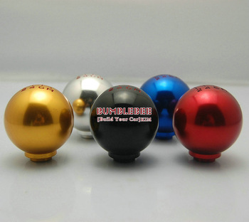 Free Shipping!!!HOT Aluminum alloy 6 speed gear Knob display, metal Knob, Gear Shift Knob,CC097