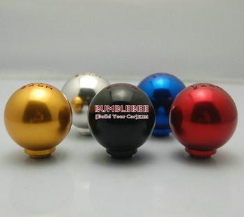 Free Shipping!!!HOT Aluminum alloy 6 speed gear Knob display, metal Knob, Gear Shift Knob,CC097