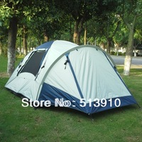 Outdoor waterproof tent camping for 3 - 4 persons/family camping tent