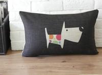 Cute Cartoon Dog Throw Pillows Covers Car Home Office Decor 1pcs 30 *50cm Free Shipping