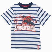Free shipping 4pcs/lot spider-man boys t shirt  cotton tops  children clothing