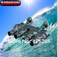 SUNSUN Brand Aquarium Fish Tank Submersible 4 Wave Maker heads 48W  24000L/H