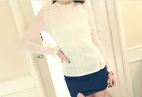 CHIC LONG SLEEVE MESH T-SHIRT TOP 3646