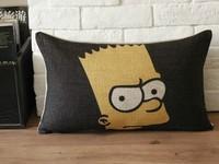 Cartoon Simpson Pillow Case Car Home Office Decor 1pcs 30 *50cm Free Shipping
