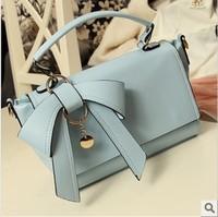 2013 female vintage bag bow female bags handbag one shoulder cross-body women's handbag small bag
