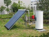 pressurized solar water heater, split type